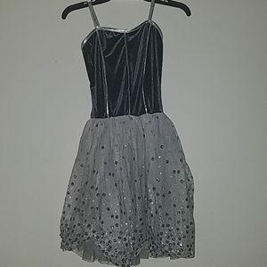 Grey Ballet Dress